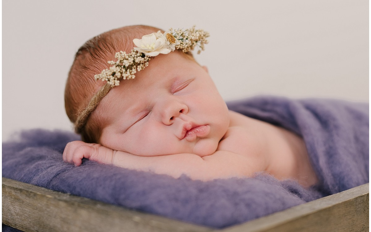 Neath Newborn Photographer - Addie Mai Newborn